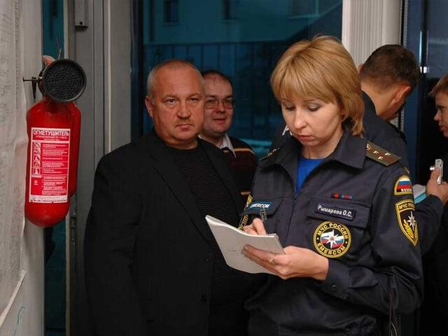 Проверки по пожарной безопасности