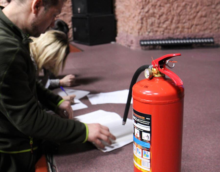 Противопожарные инструктажи в организации
