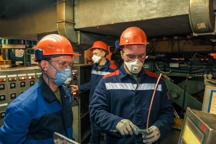 Респираторы на литейном производстве
